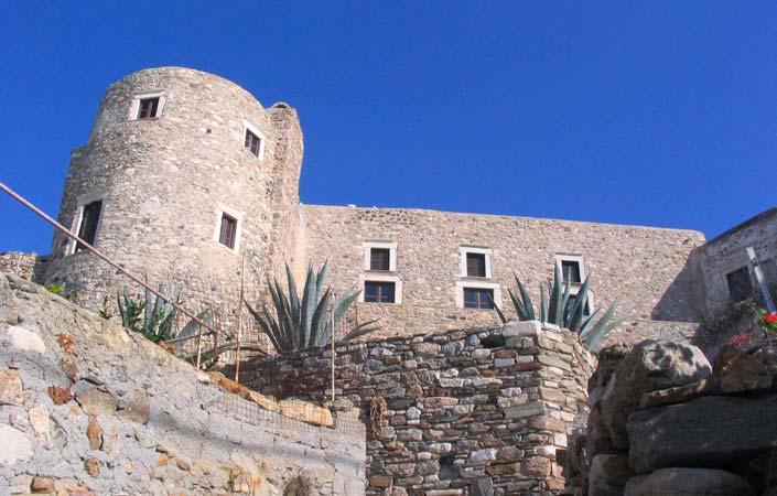 Naxos Venetian castle