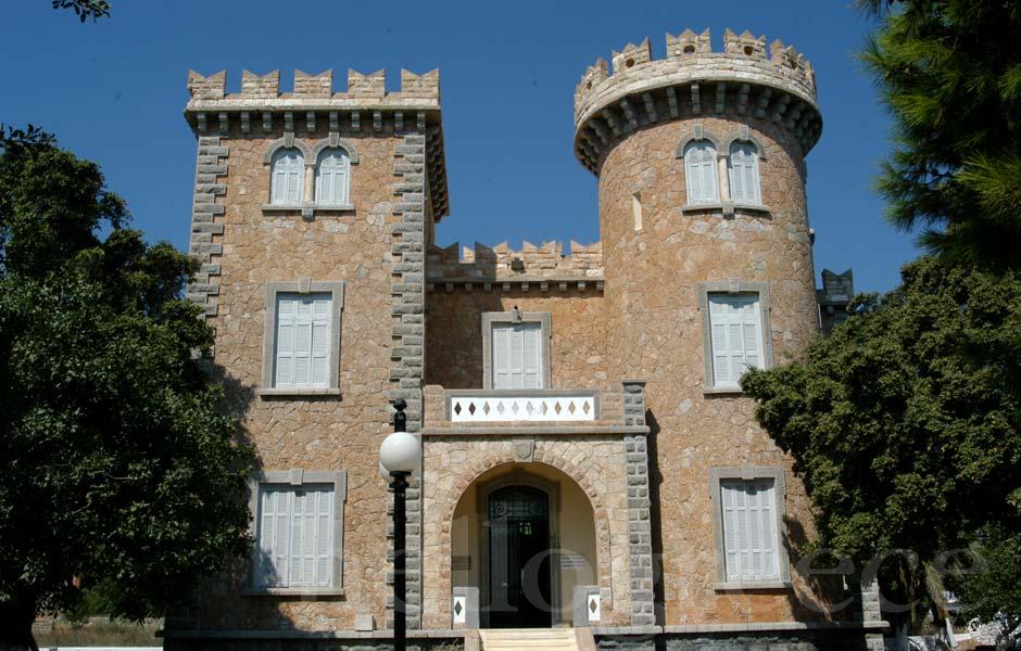 Λέρος - Πύργος Μπελλένη