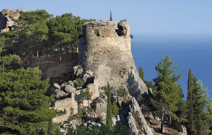 Μεσσηνία - κάστρο Αρκαδιάς