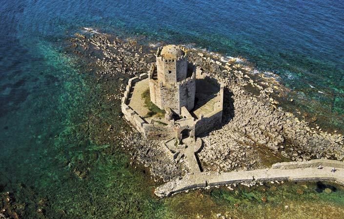 Μεσσηνία - Κάστρο Μεθώνης