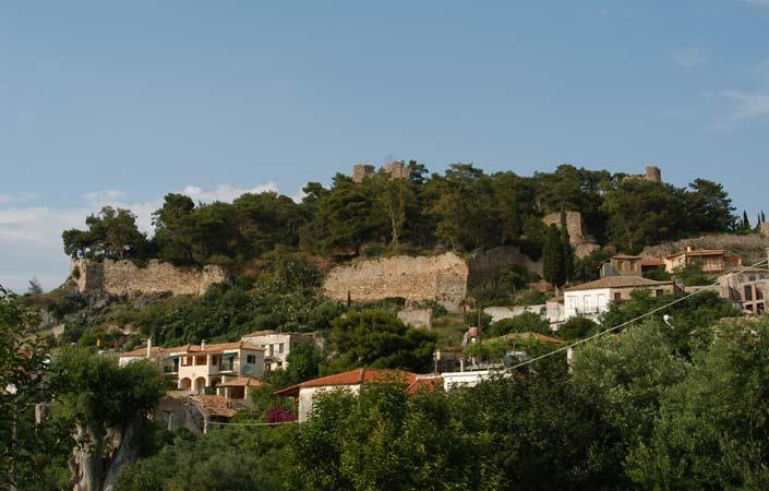 Μεσσηνία - Κυπαρισσία κάστρο Αρκαδιάς