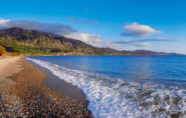 Μεσσηνία παραλία Καλαμάτας