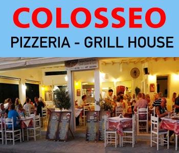 COLOSSEO PIZZERIA Naxos