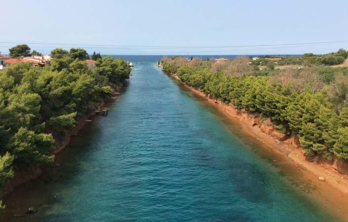 Chalkidiki - Potidea canal