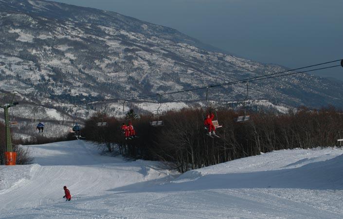 Magnisia ski resort